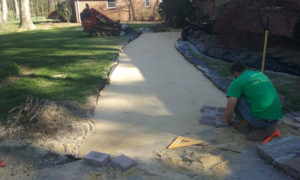 Paver or brick walkways by TSP Lawns & Landscaping