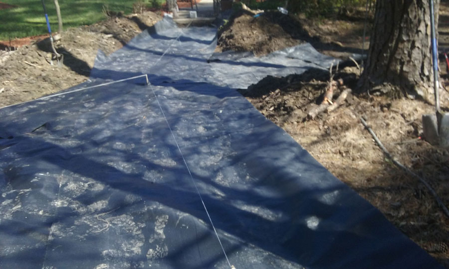 Landscaping by TSP Lawns & Landscapes Yorktown Virginia - Custom Patio Designs