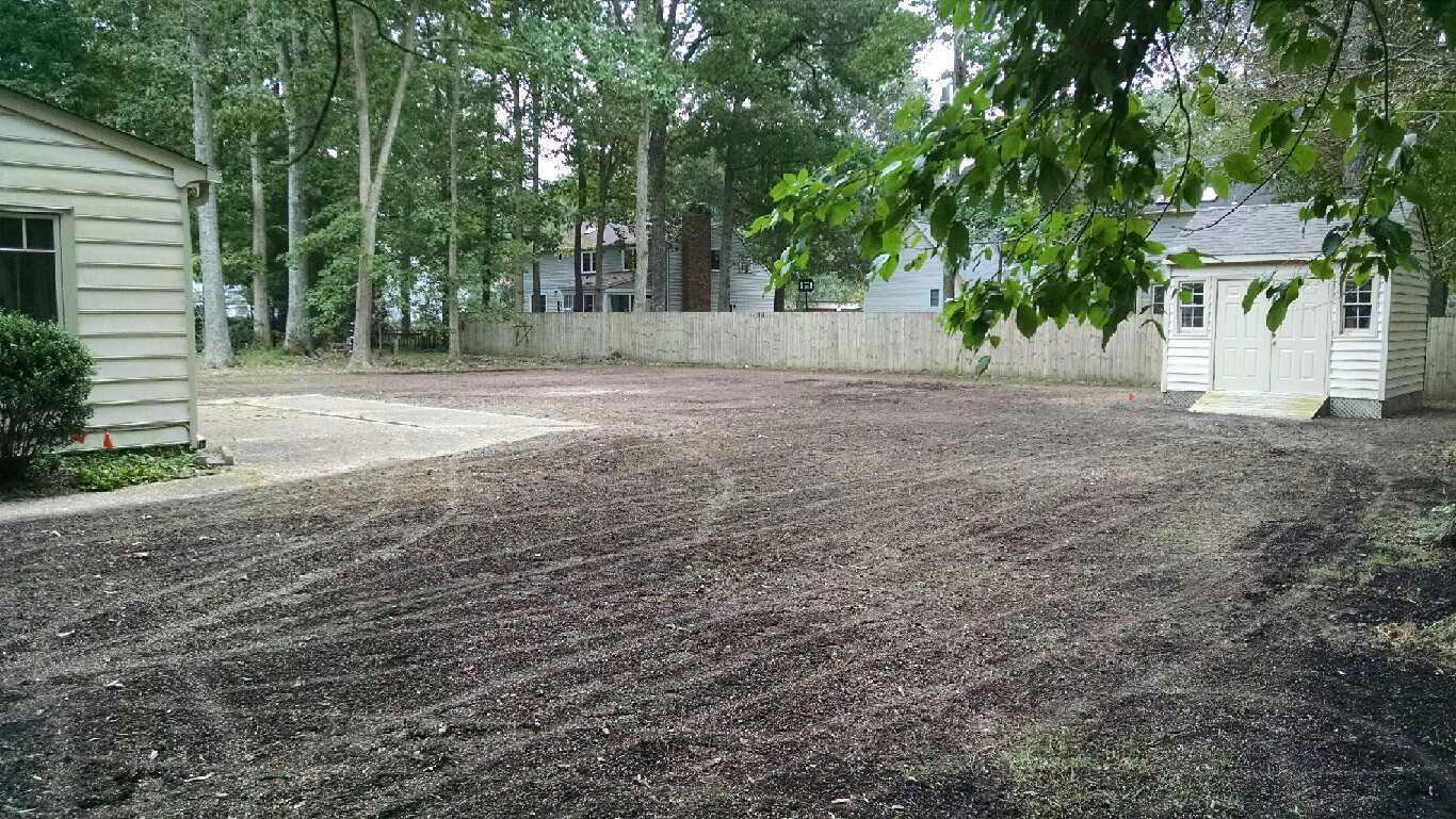 published october 14 2016 at 1366 769 in 1300w back yard grading