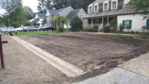Grading by TSP Lawns & Landscaping Yorktown Virginia