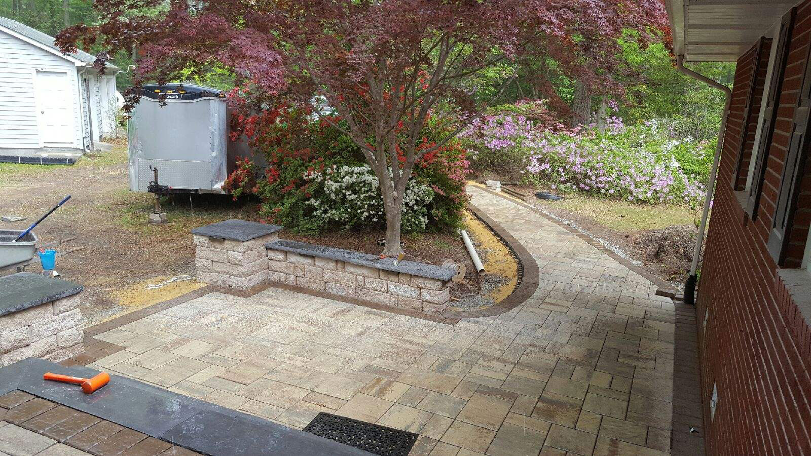 Custom Patio & Walkway by TSP Lawns & Landscaping, Inc.