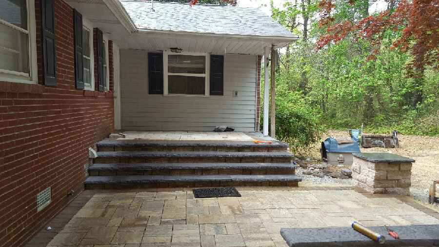 Patio & Stone Steps by TSP Lawns & Landscaping, Inc.