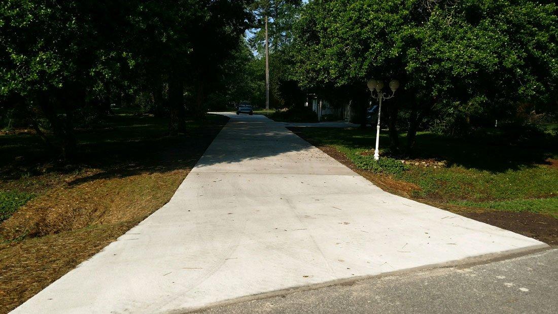 Custom Driveway by TSP Lawns & Landscaping of Yorktown VA