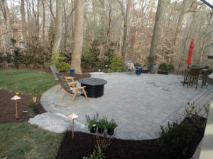 Custom Patios designs by TSP Landscaping of Yorktown VA - Custom designs - Williamsburg - Newport News