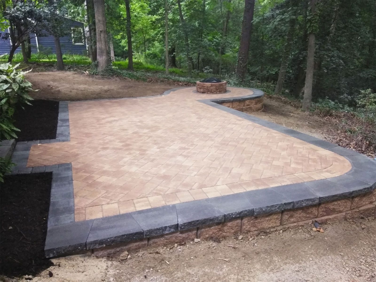 Custom Patio Designs by TSP Lawn & Landscaping of Yorktown VA