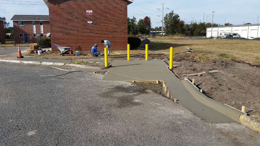 Drive-ways installed by TSP Lawns & Landscaping - Yorktown Virginia