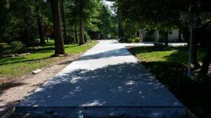 Concrete Driveways and side walks by TSP Lawns & Landscapes, Inc. - Yorktown VA